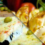 Promo: 1 muzzarella grande + 6 empanadas