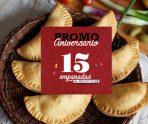 Promo 15 empanadas al precio de 12!